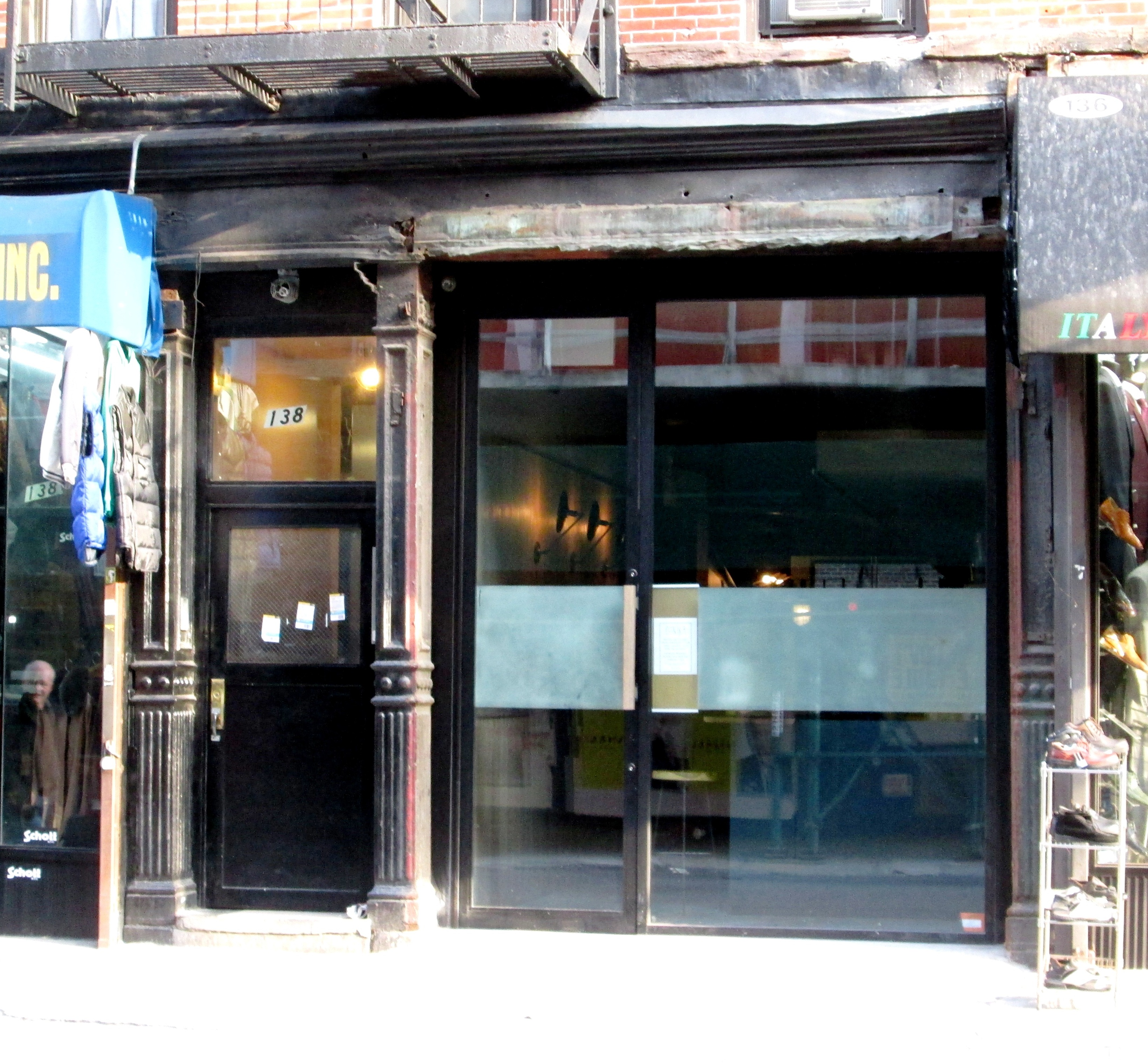Storefront sliding glass doors ideas design pics examples 6860 the 10 best unmarked restaurant storefronts in new york city picture of storefront sliding glass eventelaan Images
