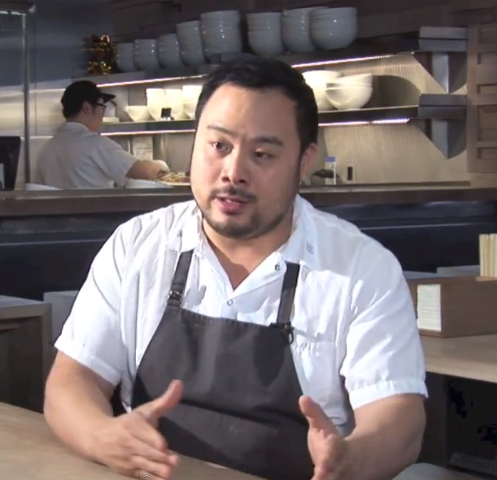 David Chang, at Momofuku Toronto, telling it like it is
