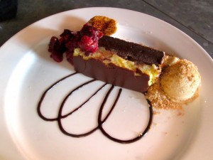 the S'Mores Brownie Terrine from Tallula/EatBar
