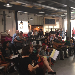 """Vigilante Coffee's first """"Alley Jam"""" held on Sept. 13"""